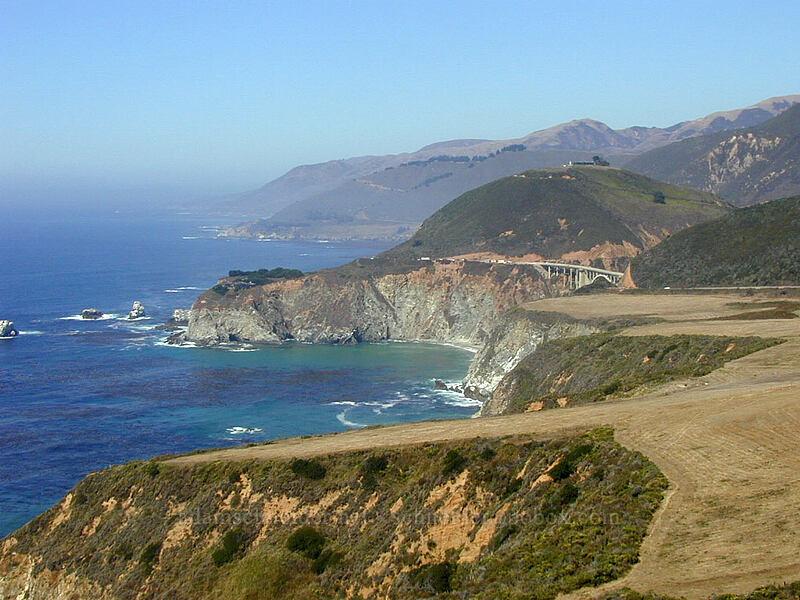 coastal headlands [Highway 1, Big Sur, California]