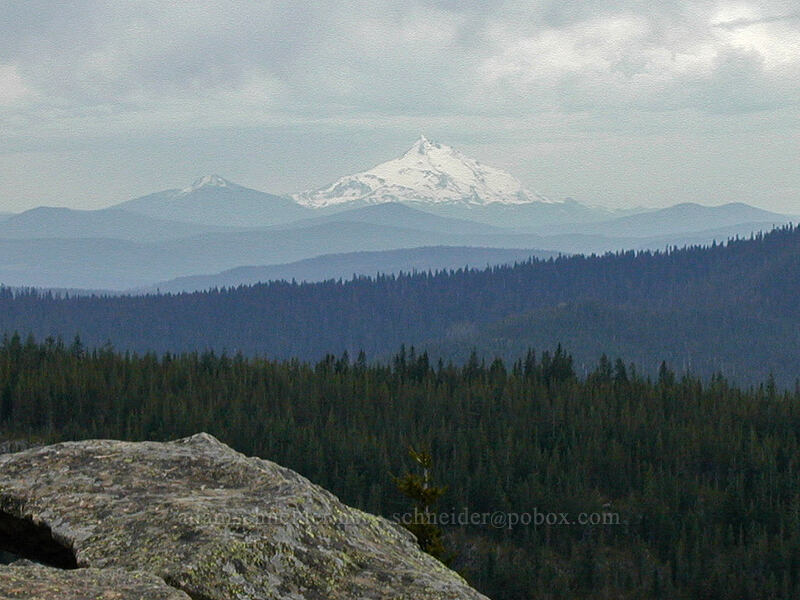 Mt. Jefferson (and Olallie Butte) [Tom Dick & Harry Mountain, Mt. Hood National Forest, Oregon]