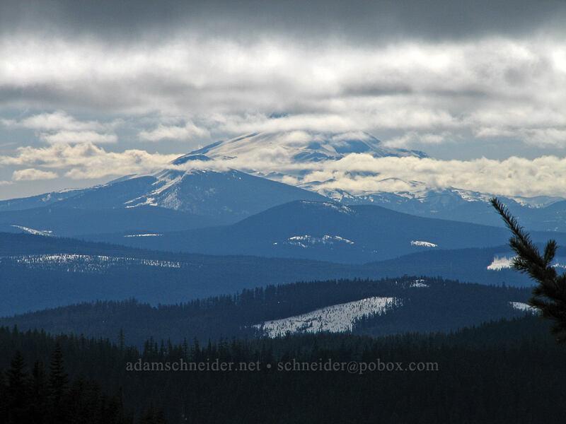 Mount Jefferson [Ghost Ridge, Mt. Hood National Forest, Oregon]