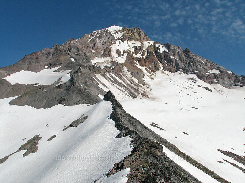 Mount Hood [above McNeil Point, Mt. Hood Wilderness, Oregon]