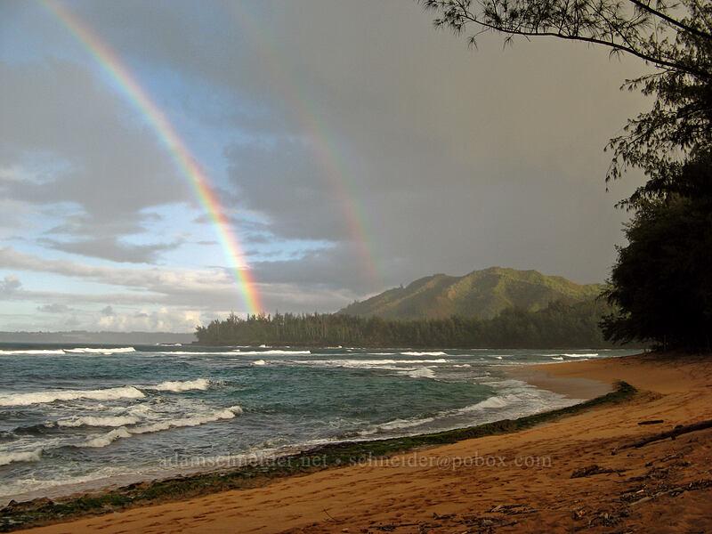 rainbow [Wainiha Bay, Wainiha, Kaua'i, Hawaii]