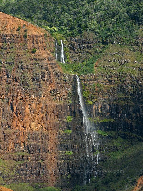Waipo'o Falls [Highway 550, Waimea Canyon State Park, Kaua'i, Hawaii]