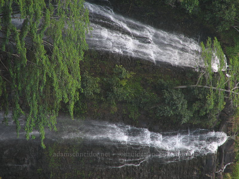 Opaeka'a Falls [Opaeka'a Falls overlook, Wailua River State Park, Kaua'i, Hawaii]