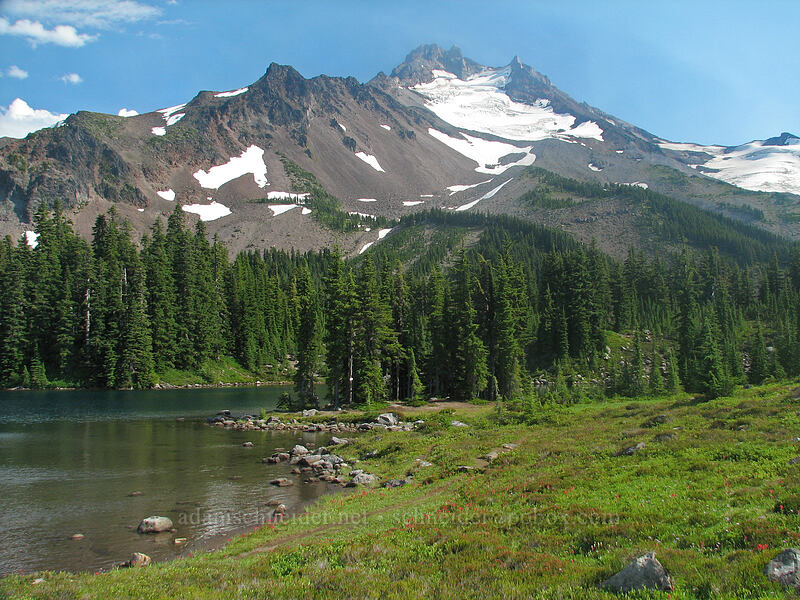 Mount Jefferson [Scout Lake, Jefferson Park, Mt. Jefferson Wilderness, Oregon]
