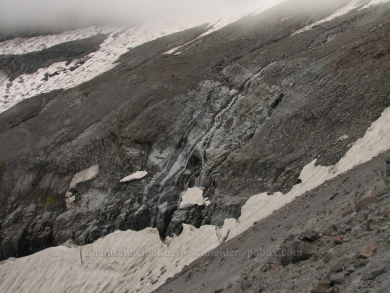 glacial outflow [Newton-Clark Ridge, Mt. Hood National Forest, Oregon, United States]