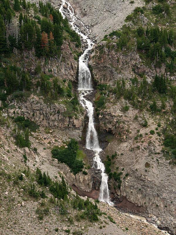 glacial waterfalls [Newton-Clark Ridge, Mt. Hood National Forest, Oregon, United States]