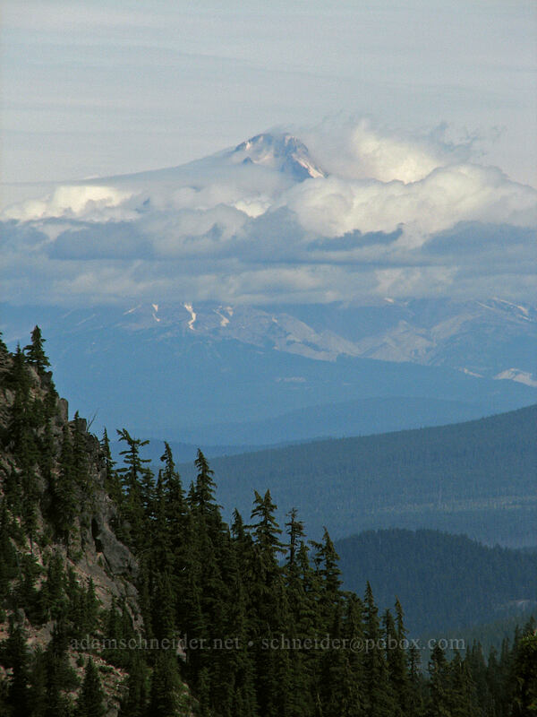 Mount Hood [Pacific Crest Trail, Mt. Jefferson Wilderness, Oregon]