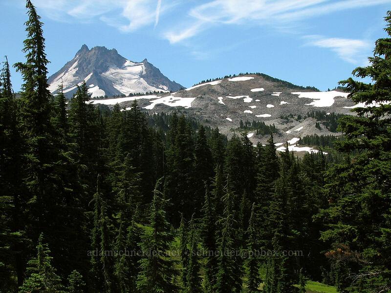 Mount Jefferson [Pacific Crest Trail, Mt. Jefferson Wilderness, Oregon]