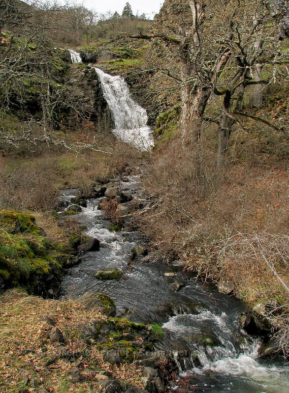 Upper Labyrinth Falls [The Labyrinth, Klickitat County, Washington]