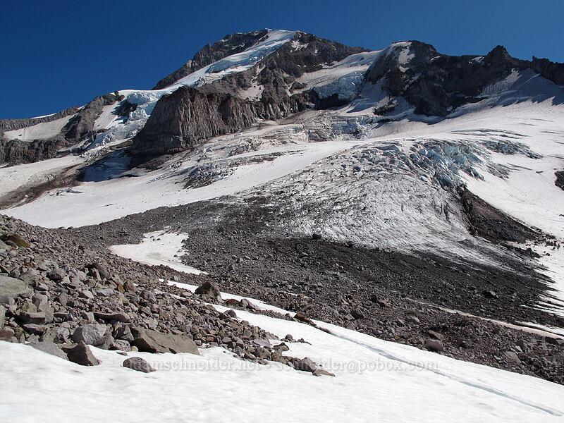 Mount Hood & Ladd Glacier [Ladd Glacier, Mt. Hood Wilderness, Oregon]