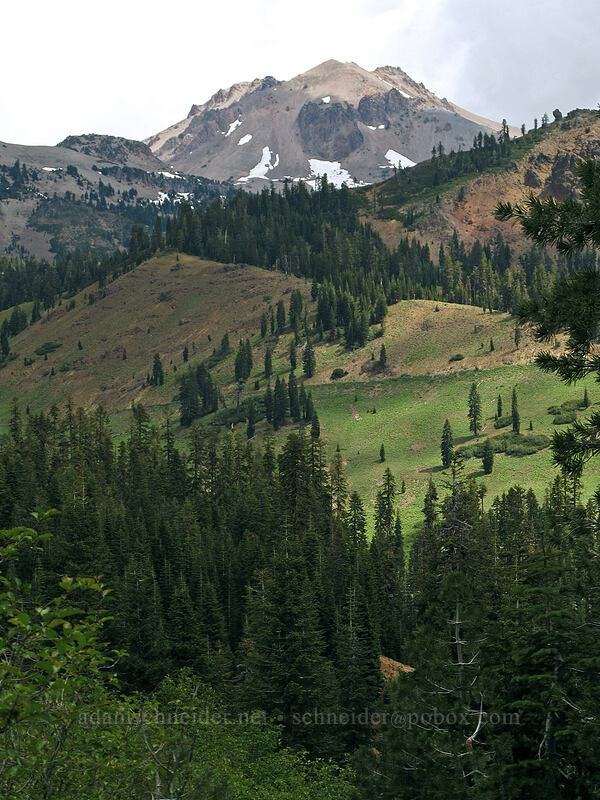Mt. Lassen [Brokeoff Mountain Trail, Lassen Volcanic National Park, California]