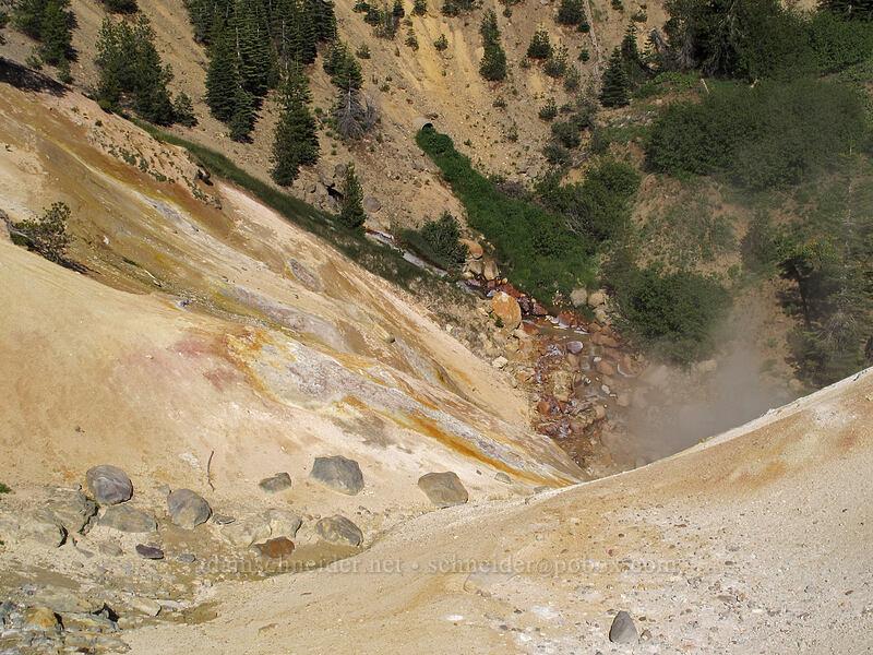 chemically-altered rocks [Sulphur Works, Lassen Volcanic National Park, California]