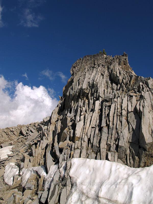 broken rocks near Lake Helen [Lassen Peak Highway, Lassen Volcanic National Park, California]