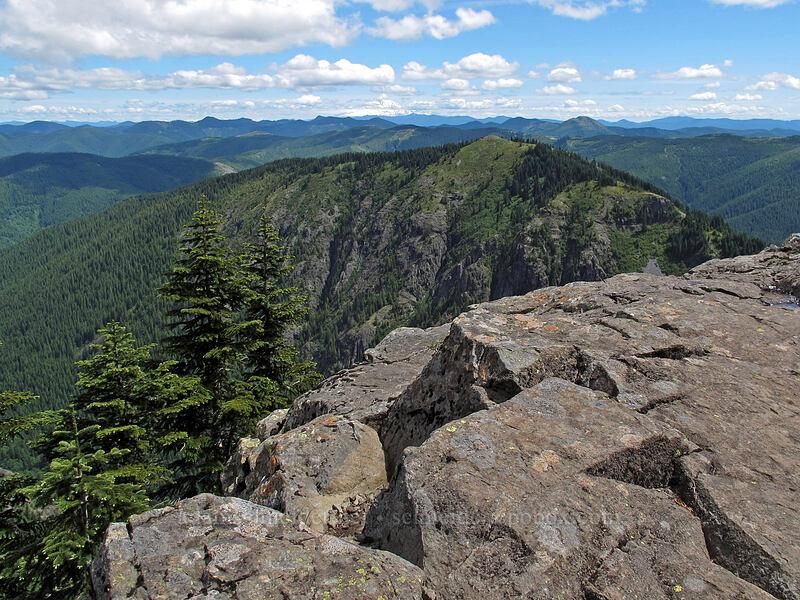 Starway ridge [Ed's Trail, Silver Star Mountain, Gifford Pinchot Nat'l Forest, Washington]