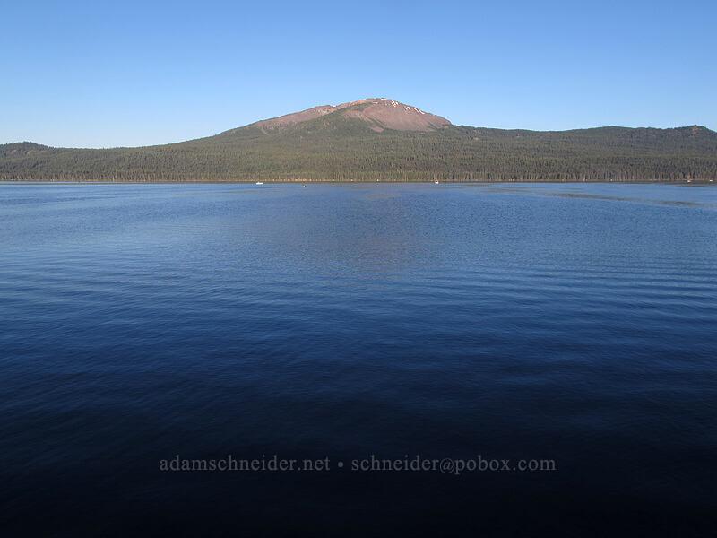 Mount Bailey & Diamond Lake [Diamond Lake Campground, Umpqua National Forest, Oregon]