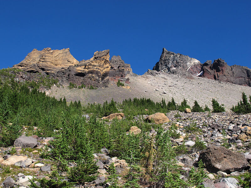 Thielsen's north ridge [Pacific Crest Trail, Mt. Thielsen Wilderness, Oregon]