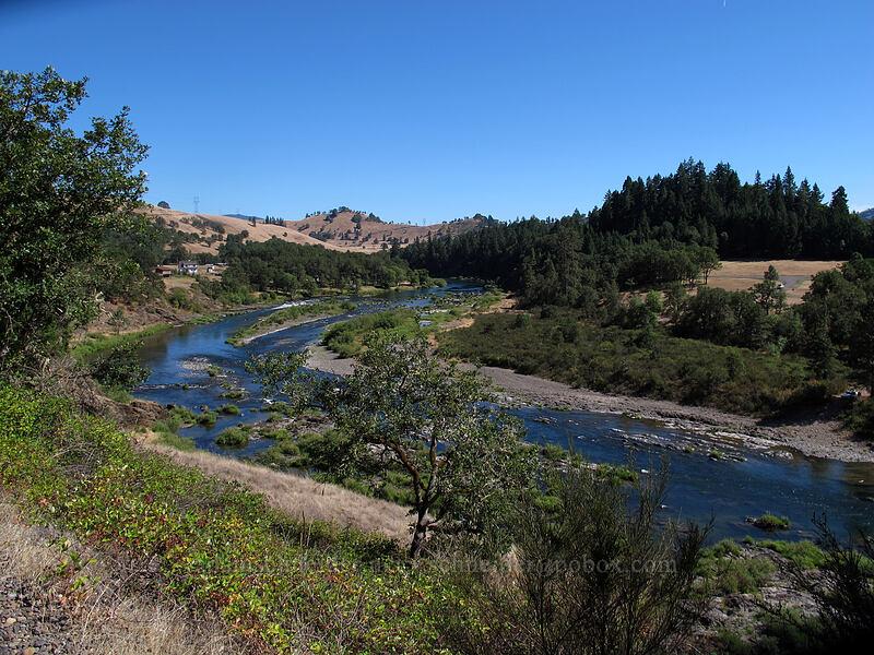 North Umpqua River [North Bank Road, Douglas County, Oregon]