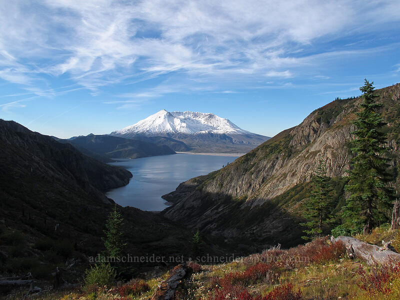 Mt. St. Helens & Spirit Lake [Norway Pass, Mt. St. Helens National Volcanic Monument, Washington]