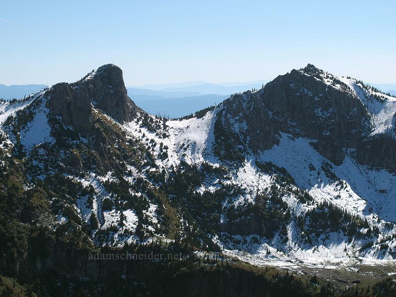 Mt. Teragram & Mt. Margaret [Mt. Whittier Trail, Mt. St. Helens National Volcanic Monument, Washington]