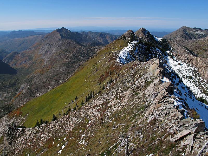 Whittier Ridge & Minnie Peak [Mt. Whittier summit, Mt. St. Helens National Volcanic Monument, Washington]