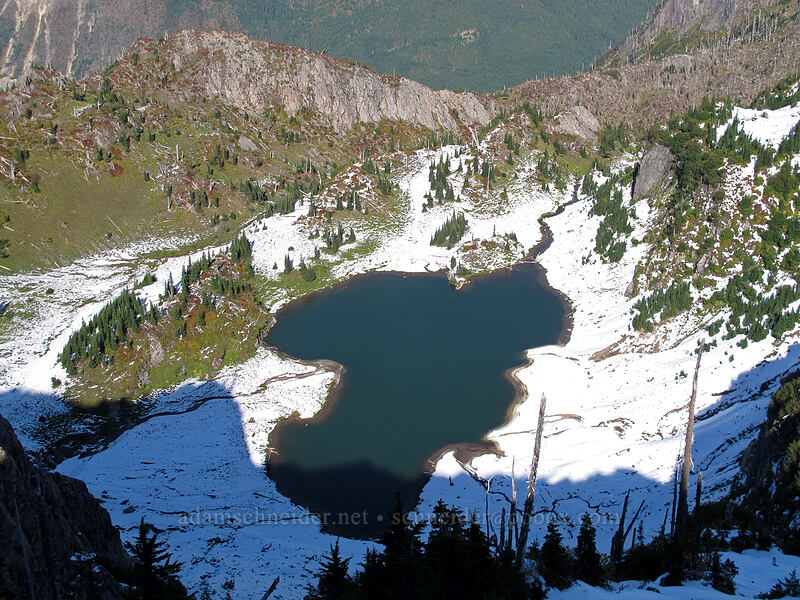Holmstedt Lake [Mt. Whittier Trail, Mt. St. Helens National Volcanic Monument, Washington]