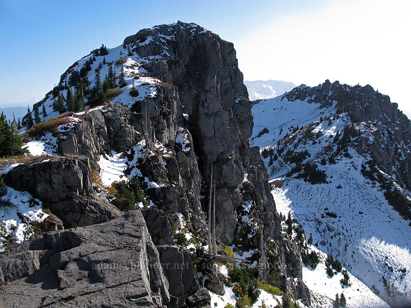 top of Mt. Teragram [Mt. Teragram, Mt. St. Helens National Volcanic Monument, Washington]
