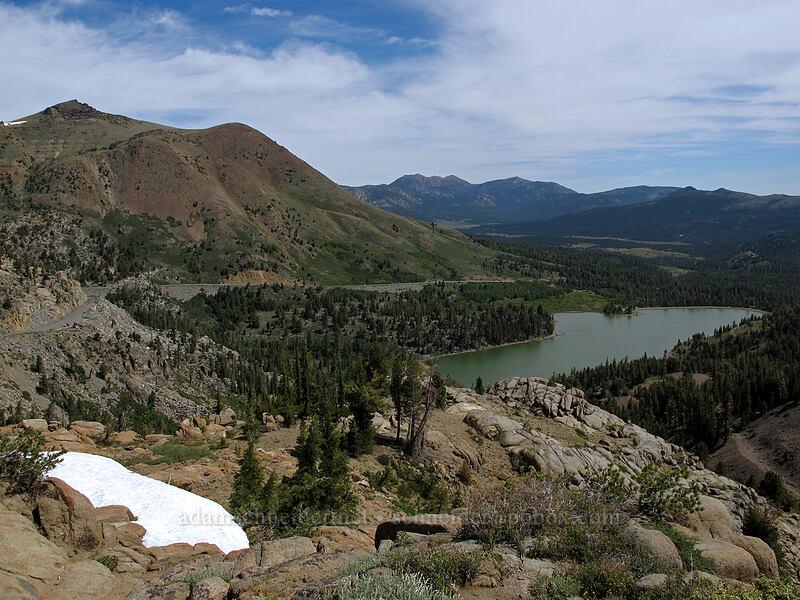 Red Lake Peak & Red Lake [Frog Lake, Mokelumne Wilderness, California]
