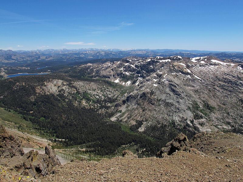 Deadwood Peak & Summit City Canyon [Round Top summit, Mokelumne Wilderness, California]