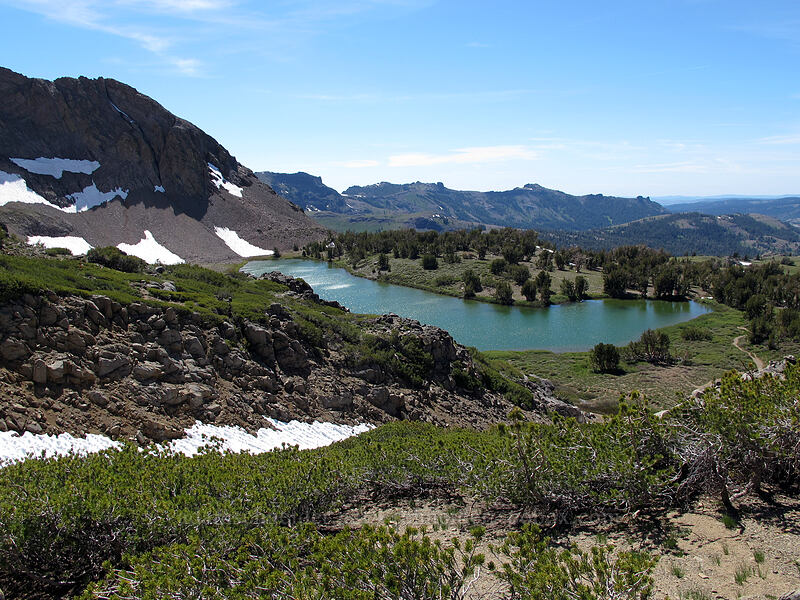 Round Top Lake [Round Top, Mokelumne Wilderness, California]