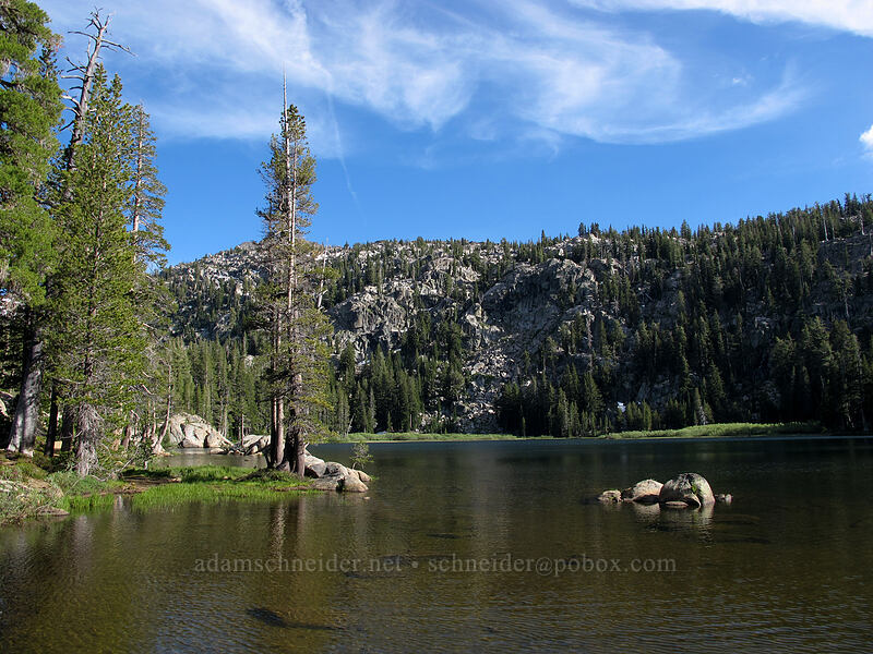 Woods Lake [Woods Lake Campground, Eldorado National Forest, California]