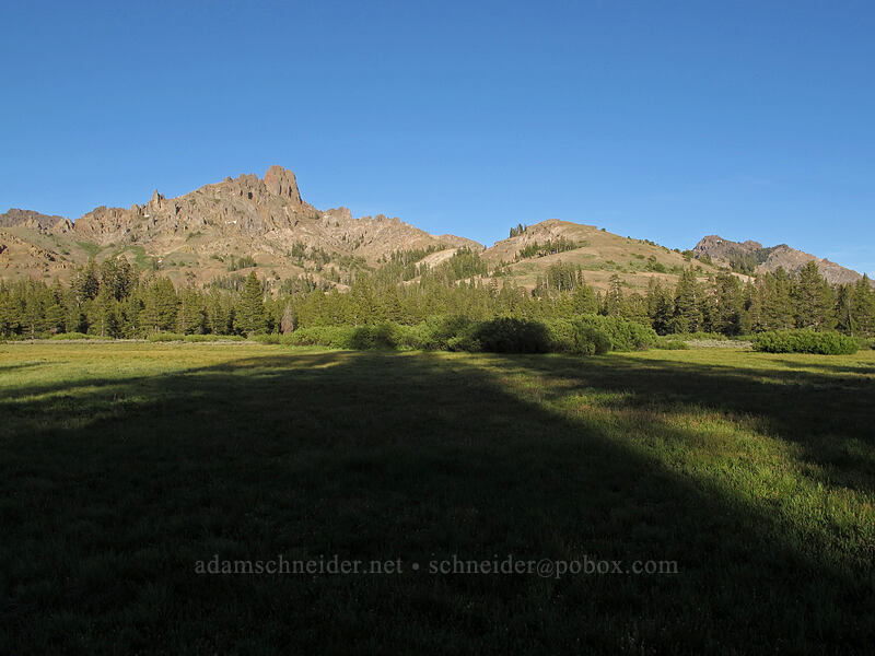 crags between Raymond Peak & Reynolds Peak [Indian Valley, Toiyabe National Forest, California]