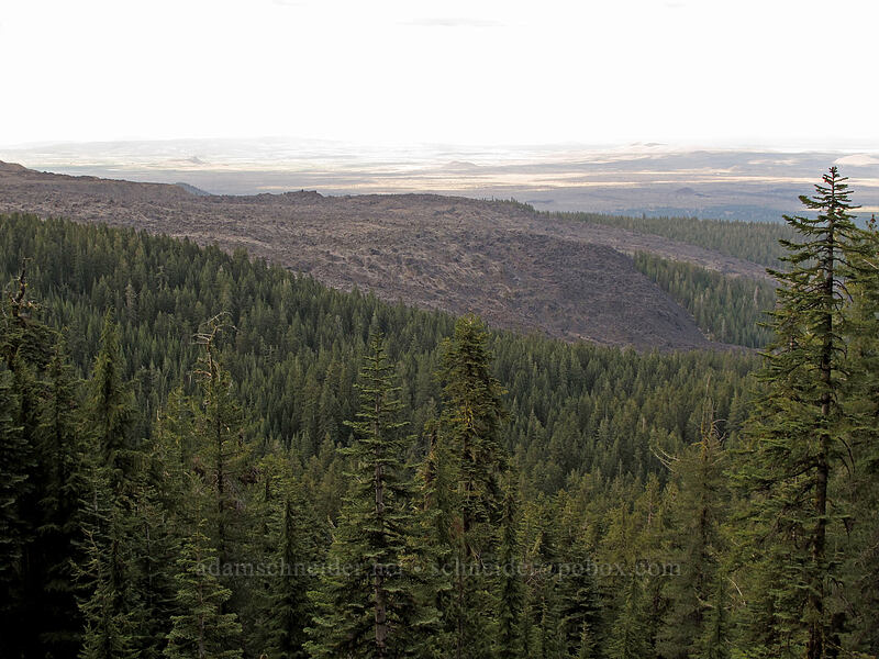 Glass Mountain lava flows [Forest Road 43N99, Modoc National Forest, California]