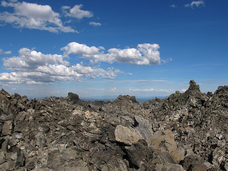 piles of lava [Glass Mountain, Modoc National Forest, California]
