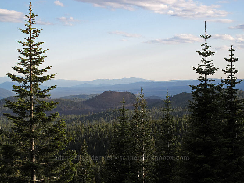 High Hole Crater & Burnt Lava Flow [Forest Road 97, Modoc National Forest, California]