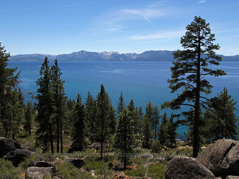 Lake Tahoe [Logan Shoals Vista Point, Douglas County, Nevada]