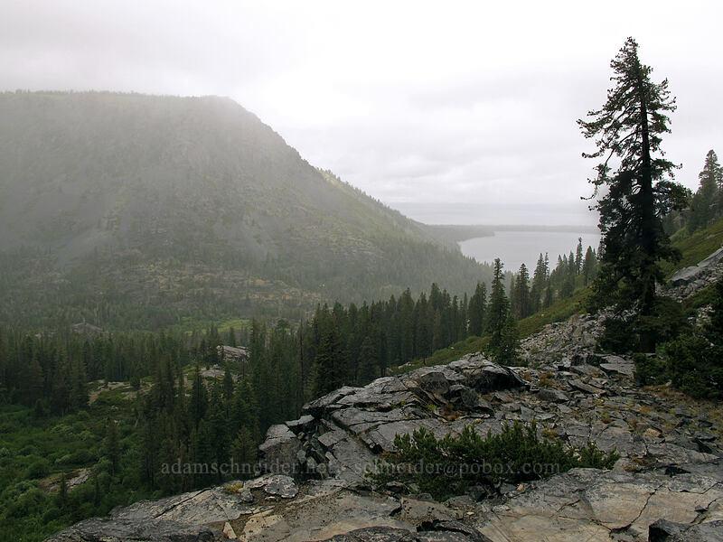 Cathedral Peak & Fallen Leaf Lake [Tamarack Trail, Lake Tahoe Basin, California]