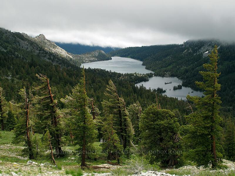 Echo Lakes & Flagpole Peak [Tamarack Trail, Desolation Wilderness, California]