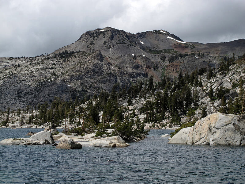 Jack's Peak [Trail 17E40, Desolation Wilderness, California]