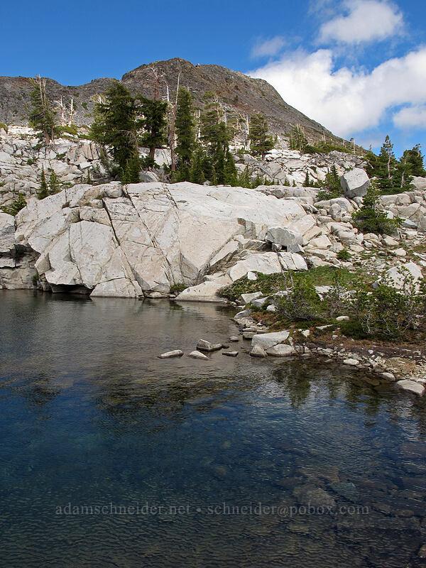 Lake Le Conte & Cracked Crag [Pacific Crest Trail, Desolation Wilderness, California]