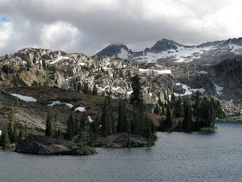 Heather Lake & Pyramid Peak [Pacific Crest Trail, Desolation Wilderness, California]