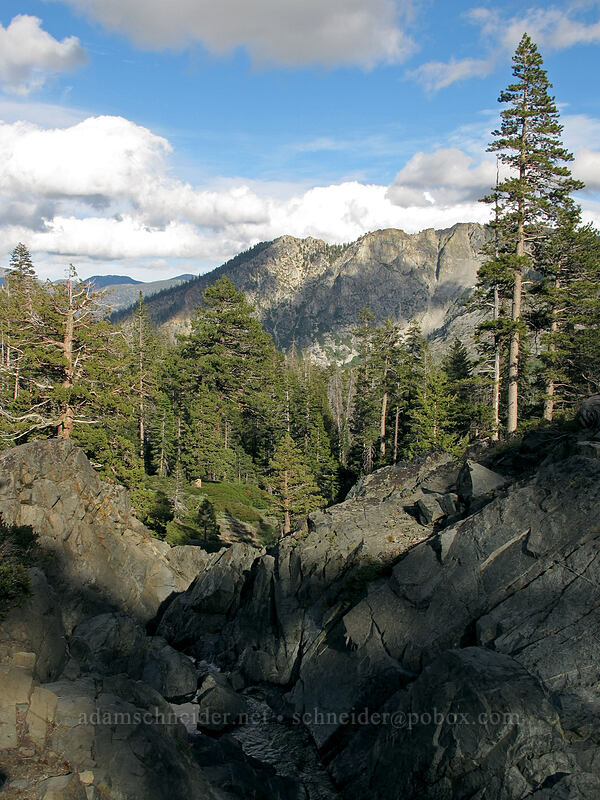 Angora Peak & Indian Rock [Glen Alpine Trail, Desolation Wilderness, California]