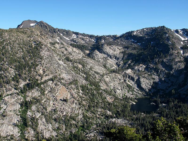 Mt. Tallac & Snow Lake [Maggie's Peak South, Desolation Wilderness, California]