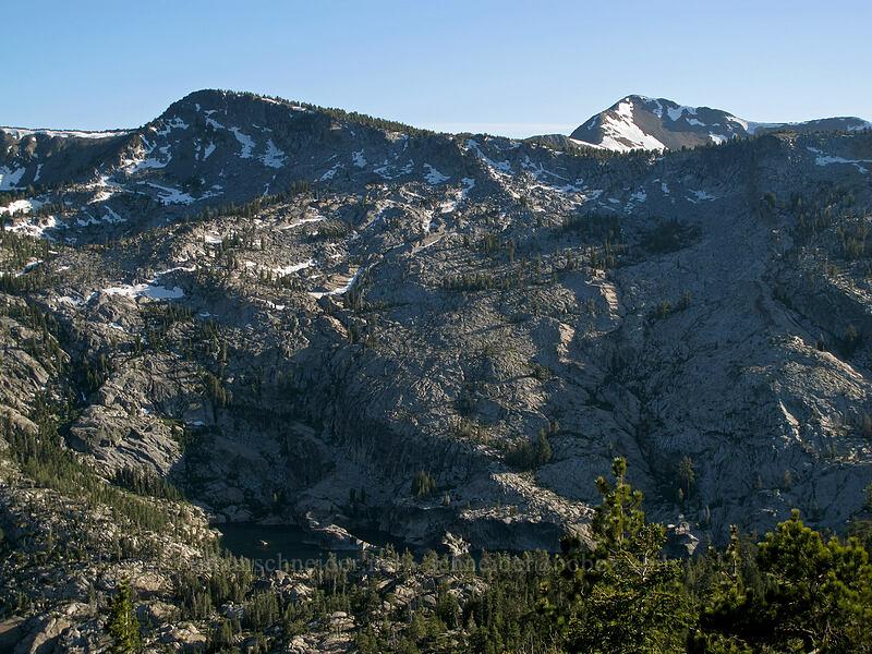 Peak 9579, Dick's Peak, & Azure Lake [Maggie's Peak South, Desolation Wilderness, California]