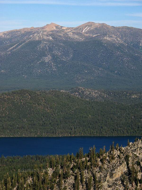 Job's Sister, Freel Peak, & Fallen Leaf Lake [Maggie's Peak South, Desolation Wilderness, California]