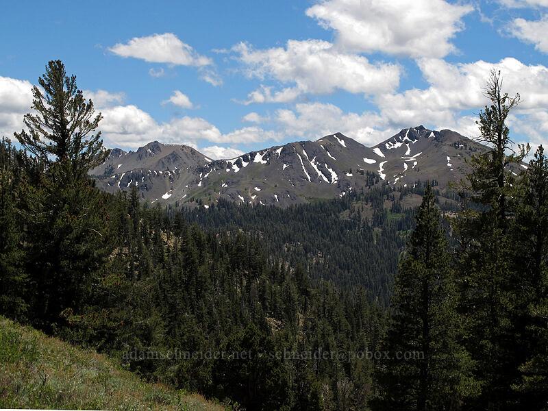 Folger Peak & Hiram Peak [Ebbetts Pass, Toiyabe National Forest, California]
