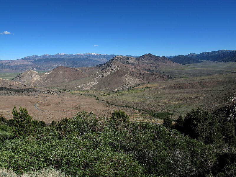 Slinkard Valley & Sweetwater Mountains [CA-89, Toiyabe National Forest, California]