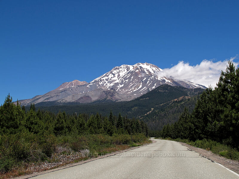 Mt. Shasta [Forest Road 88, Shasta-Trinity National Forest, California]