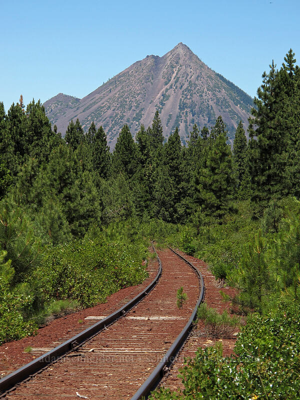 Black Butte [Forest Road 31, Shasta-Trinity National Forest, California]