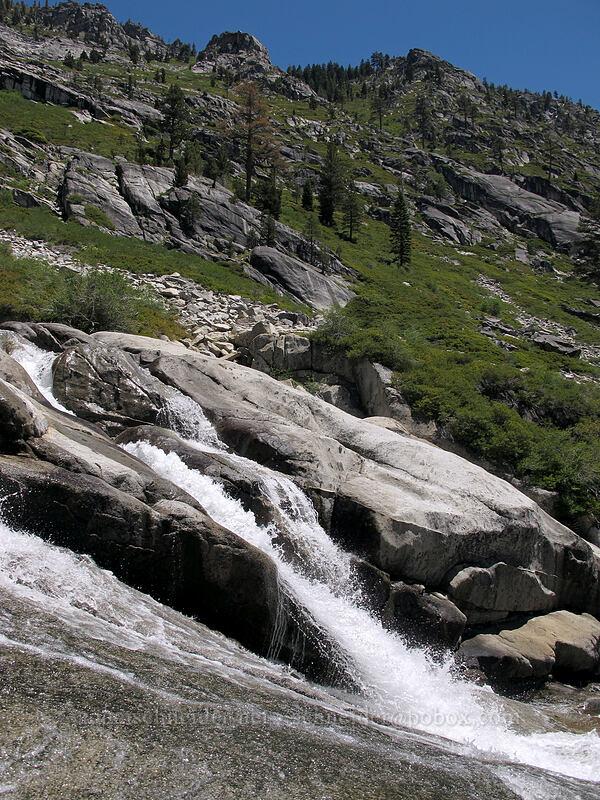 cascades [Pyramid Creek Trail, Desolation Wilderness, California]