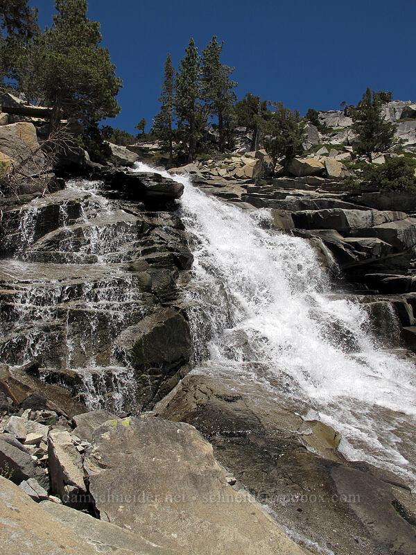 Horsetail Falls [Pyramid Creek, Desolation Wilderness, California]